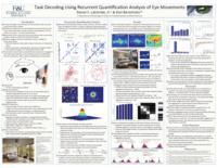 Task Decoding using Recurrent Quantification Analysis of Eye Movements