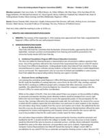 University Undergraduate Programs Committee Minutes 2014-10-03