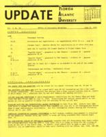 Update Florida Atlantic University, 1970-06-15