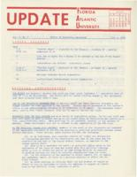 Update Florida Atlantic University, 1970-07-01