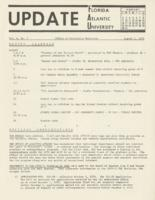 Update Florida Atlantic University, 1970-08-01