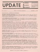 Update Florida Atlantic University, 1970-09-01