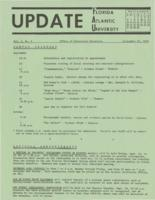 Update Florida Atlantic University, 1970-09-15