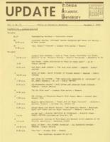 Update Florida Atlantic University, 1970-12-01