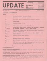 Update Florida Atlantic University, 1971-01-1