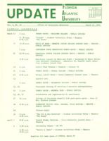 Update Florida Atlantic University, 1971-03-15