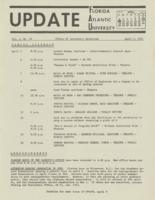 Update Florida Atlantic University, 1971-04-01