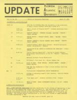 Update Florida Atlantic University, 1971-04-15
