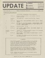 Update Florida Atlantic University, 1971-05-01