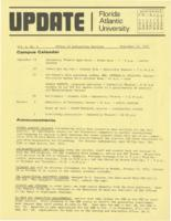 Update Florida Atlantic University, 1972-09-15