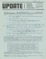 Update Florida Atlantic University, 1972-10-01