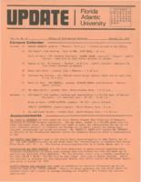 Update Florida Atlantic University, 1972-10-15