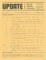 Update Florida Atlantic University, 1972-11-15
