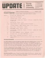 Update Florida Atlantic University, 1973-01-01