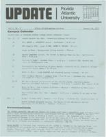 Update Florida Atlantic University, 1973-01-15