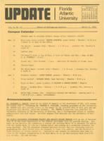 Update Florida Atlantic University, 1973-03-15