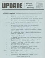 Update Florida Atlantic University, 1973-05-15