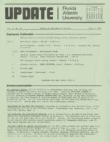 Update Florida Atlantic University, 1973-06-01