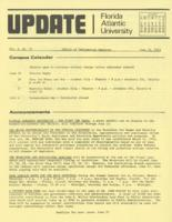 Update Florida Atlantic University, 1973-06-15
