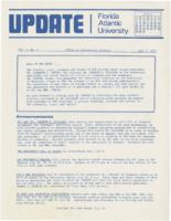 Update Florida Atlantic University, 1973-07-01