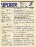 Update Florida Atlantic University, 1979-01-15