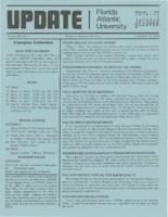Update Florida Atlantic University, 1979-09-15