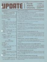 Update Florida Atlantic University, 1979-10-15