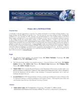 FAU Charles E. Schmidt College of Science eNewsletter Science Connect, 2011 Winter