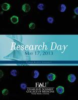 FAU Charles E. Schmidt College of Medicine Research Day 2013-05-17