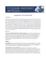 FAU Charles E. Schmidt College of Science eNewsletter Science Connect, Spring 2013