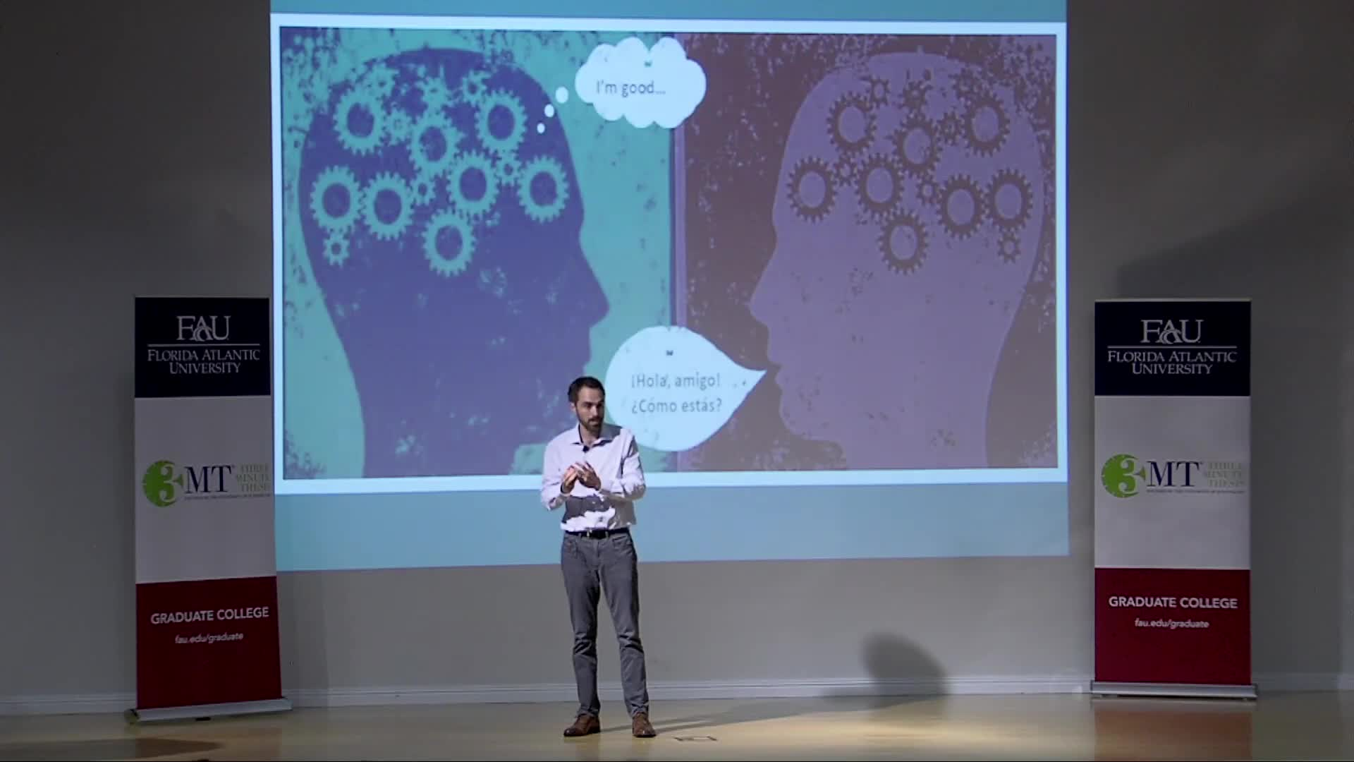 Florida Atlantic University 2018 3MT® Three Minute Thesis Championship - David Giguere