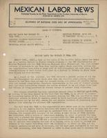Mexican Labor News - April 21, 1937  v. 2, no. 33