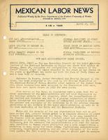 Mexican Labor News - April 27, 1939  v. 6, no. 17