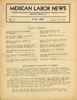 Mexican Labor News - August 10, 1939  v. 7, no. 6