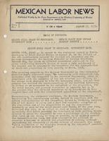 Mexican Labor News - August 17, 1939  v. 7, no. 7
