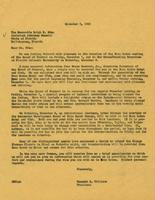 Williams Groundbreaking Form Letters, 1962