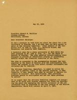 Howard M. Phillips - A. J. Brumbaugh Correspondence