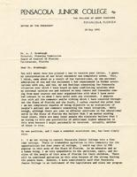 Henry L. Ashmore - A. J. Brumbaugh Correspondence, 1961