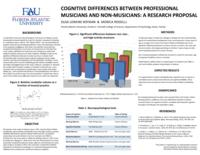 Cognitive differences between professional musicians and non-musicians: a research proposal