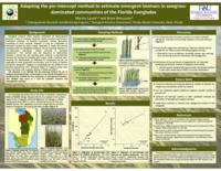 Adapting the pin-intercept method to estimate emergent biomass in sawgrass-dominated communities of the Florida Everglades