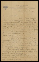 Letter to Mrs. A. M. Kemery, February 28, 1919