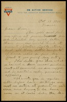 Letter to Mrs. A. M. Kemery, October 14, 1914