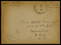 Letter to Mrs. A. M. Kemery, December 26, 1918