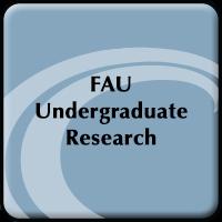 FAU Undergraduate Student Research