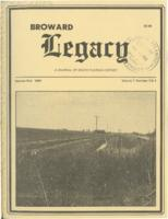 Broward Legacy, Volume 7 (Summer/Fall 1984), Number 3 and 4