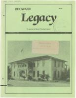 Broward Legacy, Volume 11 (Summer/Fall 1988), Number 3 and 4