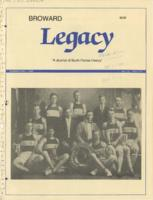 Broward Legacy, Volume 12 (Summer/Fall 1989), Number 3 and 4